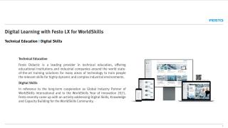 Digital Learning with Festo LX