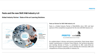 Festo and the new Skill #48 Industry 4.0