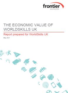 WorldSkills UK return on investment report